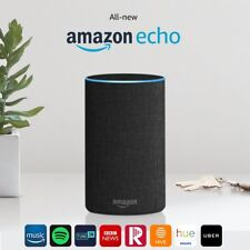 Amazon Echo Smart Alexa Speaker (2nd generation) - Charcoal Fabric New!!!