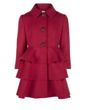 Cappotto rosso per bambine dai 2 ai 16 anni