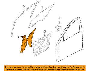Infiniti OEM 09-13 FX50 Front Left Door-Window Regulator 807211CA0C