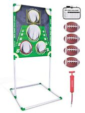 GoSports Red Zone Challenge Football Toss Game Set
