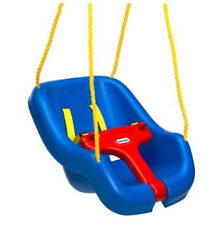 Little Tikes - 9-48 Months - Snug 'n Secure High Back 2-In-1 Baby Toddler Swing