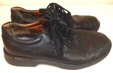 Ecco Men's 44 10 10.5 Shoes Fusion Moc Toe Tie Lace Up Comfort Oxford EUC