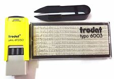 Trodat Printy 492150 Do It Yourself Stamp Kit 12x12mm (Up to 3 Lines)
