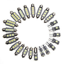 23X LED White Car Inside Light Kit Dome Trunk Mirror License Plate Lamp Bulbs US