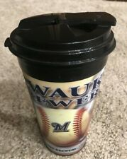 Spirit Travel Cups 3D Holographic Design 16 OZ Milwaukee Brewers - MADE IN USA