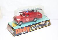 Dinky 282 Land Rover Fire Appliance Falck In Its Original Box - Near Mint Rare