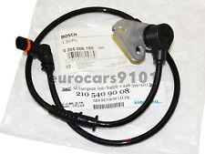 Mercedes-Benz E420 Bosch Front ABS Wheel Speed Sensor 0265006190 2105409008