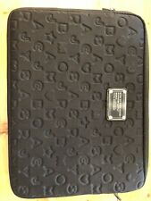 """Marc by Marc Jacobs 13"""" Laptop Tablet Sleeve Padded Case Black Gently Used"""