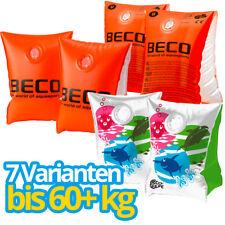BECO Schwimmhilfen Schwimmflügel Schwimmlernhilfen ORANGE / SEALIFE ? bis 60+ kg