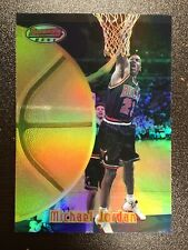 1997-98 Bowman's Best Refractor Card #60 Michael Jordan Near Mint-Mint