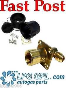 LPG GPL JIC 90deg filler set Complete for autogas propane gaslow motorhomes cars