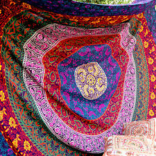 Indian Queen Hippie Mandala Tapestry Bohemian Bedspreads Flat Sheet Wall Hanging