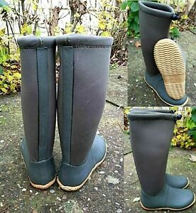LADIES WELLINGTON GREEN MUCKER WOMENS WATERPROOF WELLIES SNOW BOOTS SIZE 3-8