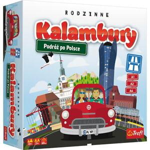 Charades, Travel around Poland. Kalambury, Podróż po Polsce