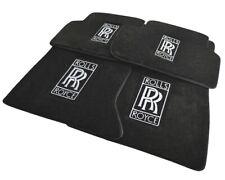 Floor Mats For Rolls Royce Dawn 2016-2019 Exclusive Luxury Carpets Emblem LHD
