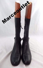 Lauren Ralph Lauren Berna Burnished Boots  9B $279.00 Black/Brown