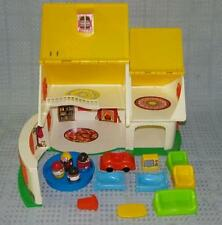 Vintage 1973 Romper Room Weebles Cottage Made in U.S.A, complete w/box