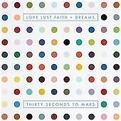 THIRTY SECONDS TO MARS - LOVE LUST FAITH + DREAMS - CD NEW (FREE UK POST)