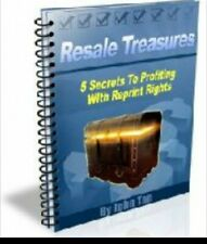 5 secrets to profiting with reprint rights eBook Pdf resell rights