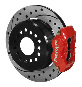 Wilwood 140-7141-DR Forged Dynalite Rear Parking Brake Kit 12 Bolt Big Kit