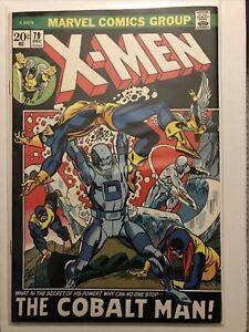 X-Men #79 (Dec 1972) Nice copy. Marvel Comic Lot F 6.0 Est