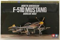 TAMIYA 60754 NORD AMERICA F-51D MUSTANG 1/72 Kit modello NUOVO INSCATOLATO