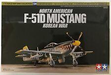 Tamiya 60754 North American F-51D Mustang 1/72 Model Kit NIB