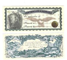 Dollar Certificate & Reward Stellen Sie Ihren eigenen Geschenke Dollar aus