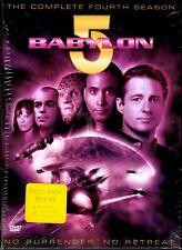 BABYLON 5 Season 4 (Four) DVD 5 Discs No Surrender No Retreat Preowned