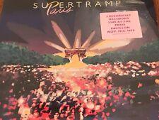 SUPERTRAMP ORIGINAL 2-RECORD TITLED PARIS - PROMO LP WITH STICKER FACTORY SEALED