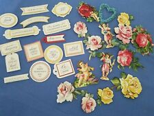 Anna Griffin Mini Valentine Stickers and Sentiments 30 pcs
