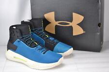 Men's Under Armour Drive 4 Baseketball Shoes Blue/Black 11