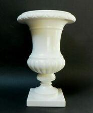 vase médicis en faience de Gien blanc collection Gien vintage