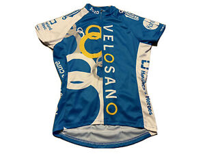 Primal VeloSano 2020 Raglan Cycling Jersey Sport Cut SPF 35+ Blue Women's S