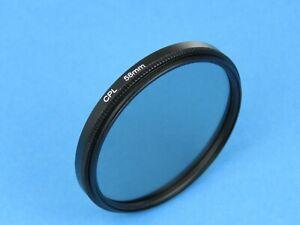 CPL 58mm Polarising Filter For Canon,Panasonic,Samsung, FujiFilm,Nikon,Sony Lens