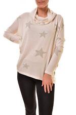 Sundry Damen Star Drapey Hoodie Pullover Pullover Elfenbein XS UVP $ 161 BCF89