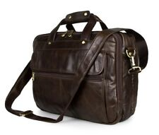 Leather briefcase-Laptop Bags-Business bags