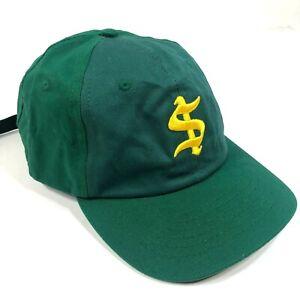 Too Short $hort Dad Hat Cap Adjustable Strap Green Yellow Cotton Hip Hop Rap