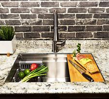 "AKDY 33-Inch (33""x22""x9"") Undermount Kitchen Sink Deluxe Stainless Steel Single"