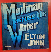 ELTON JOHN MADMAN ACROSS THE WATER LP 1971 RE '73 GREAT CONDITION! VG+/VG!!A