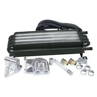 8 Pass Oil Cooler Kit, With Barbed Fittings, Dunebuggy & VW