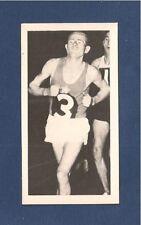 EMIL ZATOPEK 4 X  OLYMPIC GOLD MEDAL HELSINKI 1952 original card