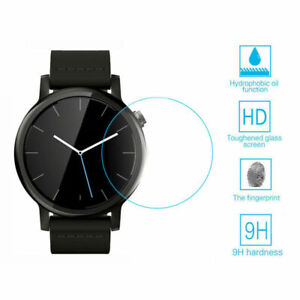 Tempered Glass Screen Protector Film Guard For Round Smart Watch 30-42mm HOT