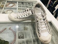 Brand new Philippe Model Leather Silver sneakers EU 40