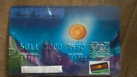 Jerry Garcia Original Artwork - Discover Credit Card- 1996- Grateful Dead