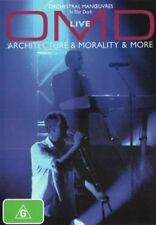 ORCHESTRAL MANOEUVRES IN THE DARK Live Architecture & Morality DVD NEW OMD O M D