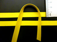 Latex Rubber Trim Strips 0.50mm Thick, 10mm x200cm,Yellow