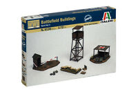 Italeri 6130 1/72 Scale Military Model Kit WWII Battlefield Buildings Accessries