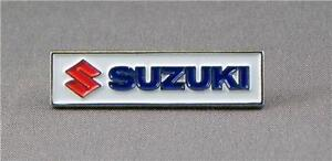 SUZUKI MOTOR BIKE PIN BADGE NEW