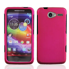 For Motorola Electrify M XT901 Rubberized HARD Case Phone Cover Rubber Rose Pink